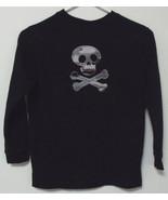 Boys Halloween Black Long Sleeve T Shirt Size S... - $4.00