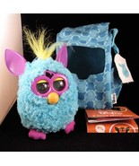 Teal Furby Fashion Carrier Tote Bag Backpack W/... - $55.95