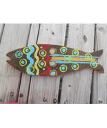 Rustic Wood WOODEN FISH 18