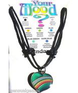 Mood Necklace Girl 5-15 yr Heart Pendant Emotio... - $7.89