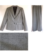 Joseph (London) Wool pant suit M Italy Brown Gl... - $99.99