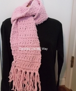 Scarf crocheted handmade  - $14.00