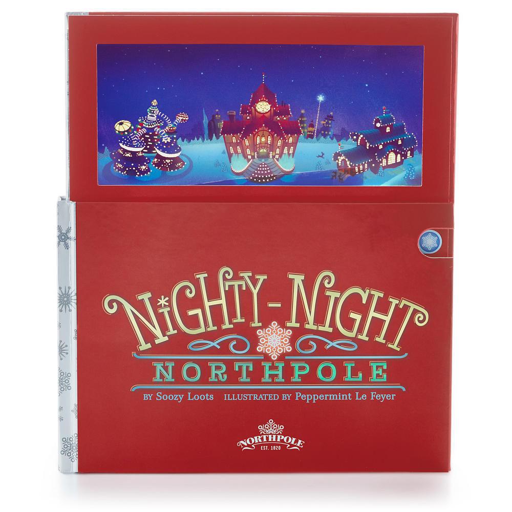 Hallmark Nighty Night Northpole Hardcover Light Up
