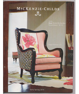MACKENZIE-CHILDS EARLY SPRING 2014 CATALOG - $9.95
