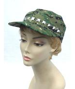 Army Camoflage Cadet Studded Cap - $12.00
