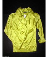 New Womens Josie Natori S NWT $375 Silk Blouse ... - $281.25