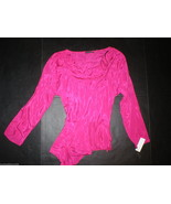 New Womens Josie Natori Peplum Top 16 NWT $325 ... - $320.00