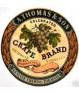 Grape Brand 1800s Vintage Label Print - $14.84