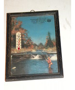 Thermometer Advertising Phillips 66 Scene Fishi... - $35.00