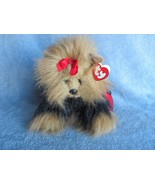 Ty Classic Plush Yappy the Yorkie with Red Purse - $8.90