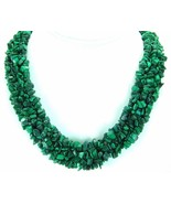 4 Intertwined Strands of Natural Green Blue Mal... - $304.32