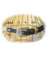 Women's Leather Belt With Sterling Silver India... - $99.00