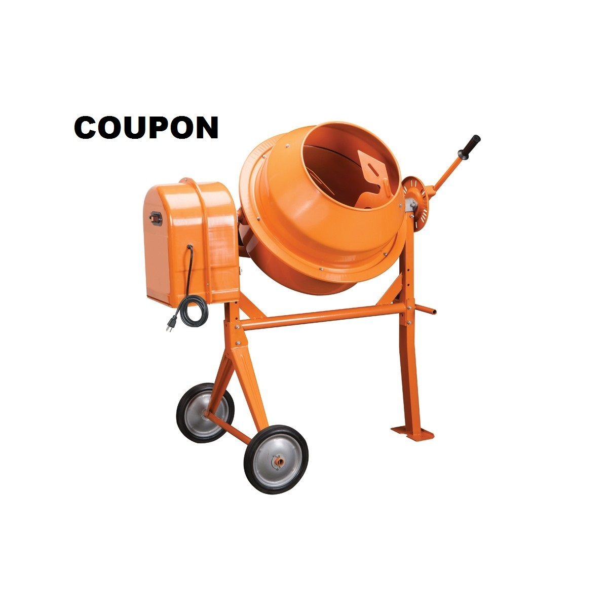 Cement Mixer Blades : Cement mixer cubic ft save with this super