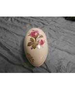 Lefton China Egg shaped trinket box - $19.80
