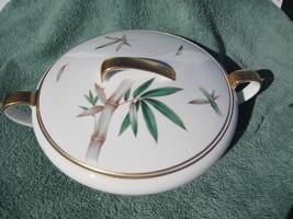Noritake Bamboo Covered Vegetable Serving Bowl ... - $45.52