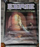 Eerie #23 Monster Magazine Poster 1970s - £15.79 GBP