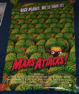 Tim Burton Mars Attacks Poster Martians New - £17.46 GBP