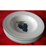 FOUR Mikasa Summer Poetry Soup/cereal  Bowls (4... - $29.99
