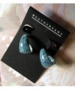 Denim Style Fashion Earrings Weathervane Brand ... - $5.00