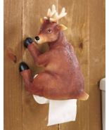 Woodland Booty Deer Toilet Paper Holder  - $21.95