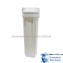 1 Reverse Osmosis RO/DI Standard White Housings fits 2X10