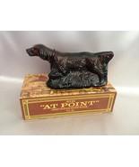 Avon Bird Dog At Point Brown Glass Deep Woods A... - $10.00
