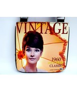 Audrey Hepburn Vintage Classic 1960's Messenger... - $20.00