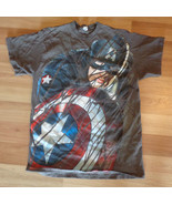 USED CAPTAIN AMERICA  T-SHIRT ADULT EXTRA LARGE... - $12.86