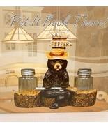 Bear Salt & Pepper Shaker Set 7