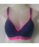XOXO size 36D sports bra in navy and pink - $15.00
