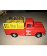 Vintage Red Buddy L Traveling Zoo Pressed Steel... - $90.00