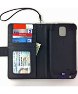 Folio Wallet Leather Case Samsung Galaxy S4 Pow... - $39.50
