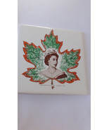 TILE Wall Decoration 1959 Queen Elizabeth II En... - $30.00