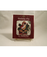 Mill Hill MISTLETOE KITTY Holiday Pin or Orname... - $6.00