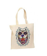 Sugar Skull Pit Bull Dog New Lightweight Cotton... - $12.99