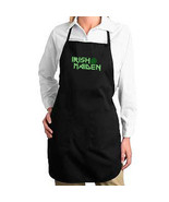 Irish Maiden New Black Apron, Events, Cook, Bar... - $19.99