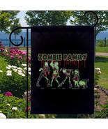 Zombie Family New Small Garden Flag, Pop Cultur... - $12.99