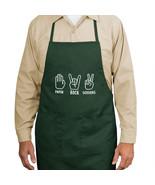 Paper Rock Scissors New Apron Cook Grill Events... - $19.99