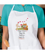 Happy Mother Wife Life New Apron Gifts Cook Bak... - $19.99