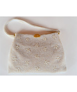Walborg, made in Japan, white, fully beaded vin... - $32.97