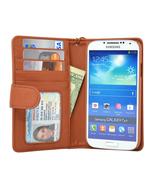 Navor Samsung Galaxy S4 Folio Wallet Leather Ca... - $15.50