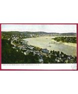 CINCINNATI OHIO River fro Eden Park UDB OH - $12.00