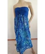Nwt Raviya Strapless Maxi Swimsuit Beach Dress ... - $18.95