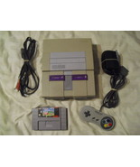 Nintendo SNES White Console (NTSC) with  Kirby ... - $118.79
