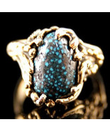 Genuine Authentic OLD LANDER BLUE Turquoise Rin... - $3,424.41