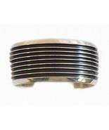 Native American Navajo Sterling Silver Cuff Bra... - $741.51