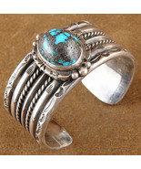 Vintage Pawn 1950s/60s Sterling BISBEE TURQUOIS... - $988.02