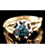 Southwestern 14K Gold Genuine OLD LANDER BLUE T... - $2,771.01