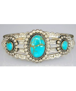Navajo Vintage Pawn Old Bell Fred Harvey Style ... - $365.31