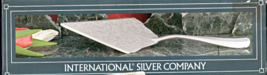 Silver Plate Cake Server  - International  Silv... - $15.95